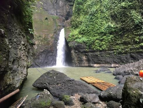 The waterfalls!